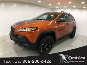 2016 Jeep Cherokee Trailhawk 4x4 V6 | Leather | Navigation