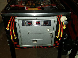 STERN METEOR PINBALL MACHINE FOR SALE London Ontario image 2