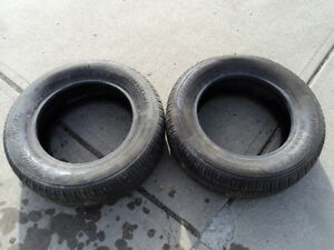 2 Motomaster all season Tires 215/60/15