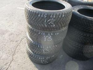 225/45 R17 IRONMAN POLAR TRAX WINTER TIRES USED SNOW TIRES (SET OF 4) - APPROX. 85% TREAD