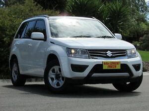 2013 Suzuki Grand Vitara JB MY13 Urban 2WD White 5 Speed Manual Wagon Blair Athol Port Adelaide Area Preview
