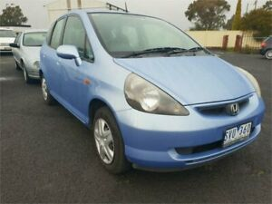 2004 Honda Jazz GLi Blue Continuous Variable Hatchback Delacombe Ballarat City Preview