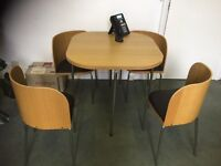 IKEA table and 4 chairs £40 excellent condition, collect from Chorlton