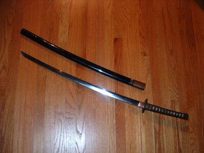 [SF015] Japanese Samurai Sword: Yasutsuna Katana in Koshirae 69.6 CM