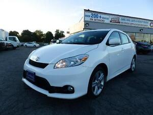 2011 Toyota Matrix TYPE S 1 OWNER SERVICED IN DEALER ONTARIO CAR