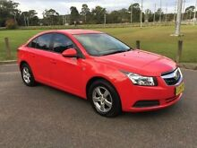 2010 Holden Cruze JG CD Red 5 Speed Manual Sedan West Gosford Gosford Area Preview