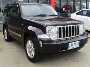 2012 Jeep Cherokee KK MY12 Limited (4x2) Black 4 Speed Automatic Wagon Melton Melton Area Preview