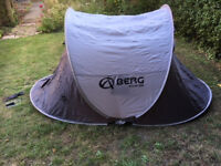 Used pop up tent for 2 people