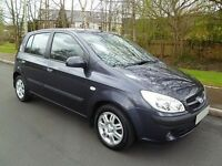 2006 06 Hyundai Getz CDX 1.1. 2017 M.O.T. Service History. Bank Holiday Bargain £100 off!!
