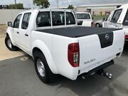 2012 Nissan Navara D40 MY12 RX (4x2) White 5 Speed Automatic Dual Cab Pick-up Mackay Mackay City Preview