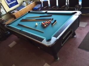 Pool Table - Dynamo - Coin Operated