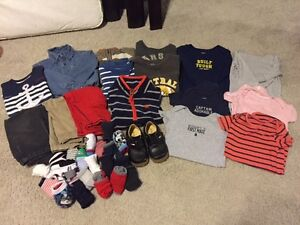 Boys fall/winter clothes size 18-24 months