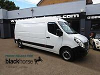 2014 Renault Master LM35 2.3DCi 125ps L3H2 LWB E/Pack Diesel white Manual