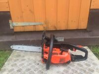 Sought After Echo Petrol Chainsaw With A Brand New Chain For Only £90