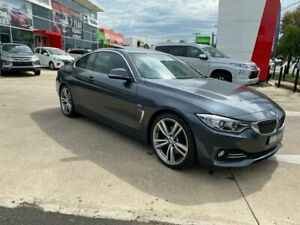 2015 BMW 4 Series F32 428i Luxury Line Grey 8 Speed Sports Automatic Coupe Hoppers Crossing Wyndham Area Preview