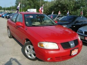 2005 Nissan Sentra 1.8SE Only 124km Rust & Accident Free