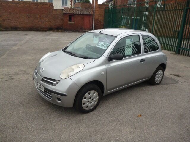 nissan micra e silver 2006 in bawtry south yorkshire gumtree. Black Bedroom Furniture Sets. Home Design Ideas