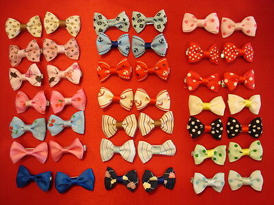 (Bows Ties HAIR COLLAR LEAD Clip DOG PUPPY CAT Pet CHRISTMAS Present Gift Ribbon)