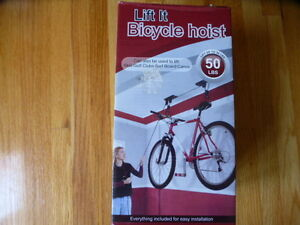 Lift It Bicycle Hoist Brand New Never Used, Still in the Box