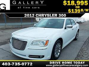 2012 Chrysler 300 Limited $139 bi-weekly APPLY NOW DRIVE NOW