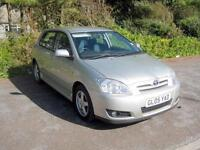 Toyota Corolla 1.6 Petrol Engine VVT-i Colour Collection, 5 speed Manual, 2005.