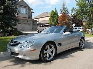 2004 Mercedes-Benz SL 500  5.0L Leather Navi ONLY 85,000KMs