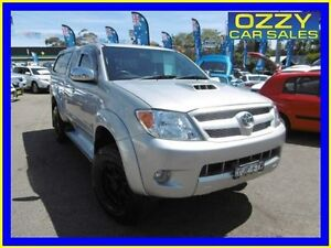 2007 Toyota Hilux KUN26R 07 Upgrade SR5 (4x4) Silver 5 Speed Manual Extracab Penrith Penrith Area Preview