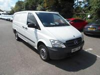 Mercedes-Benz Vito LWB 110 CDI VAN DIESEL MANUAL WHITE (2013)
