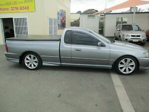 2003 Ford Falcon BA XR6T Silver 4 Speed Auto Seq Sportshift Utility Coopers Plains Brisbane South West Preview