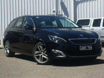 2015 Peugeot 308 Black Sports Automatic Wagon
