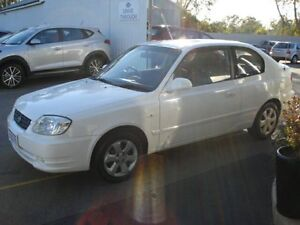 2005 Hyundai Accent LS 1.6 White 5 Speed Manual Hatchback Northam Northam Area Preview
