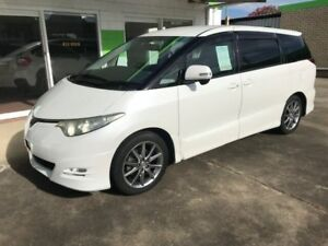 2007 Toyota Tarago ESTIMA 7 SEATER Aeras White 6 Speed Automatic Wagon Casino Richmond Valley Preview