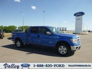 SERIOUS BOOST. IMPRESSIVE EFFICIENCY! 2014 Ford F-150 LONG BOX
