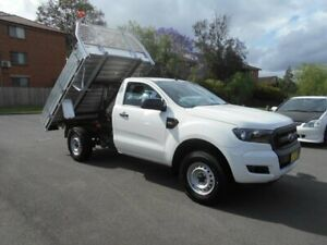 2016 Ford Ranger PX Tipper XL 2.2 Hi-Rider (4x2) Tipper White 6 Speed Automatic Cab Chassis Bankstown Bankstown Area Preview