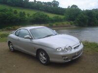 2001 (Y Reg) Hyundai Coupe 1975cc SE SILVER ONLY 86,804 miles, 7 months MOT. Feb 2017 FULL LEATHER