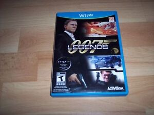 Jeu de Wii U: 007 Legends