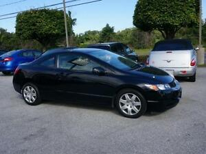 2009 Honda Civic Coupe LX- Winter tires included- Low KM