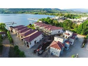 Tuscan Terraces, a rare waterfront development in Vernon