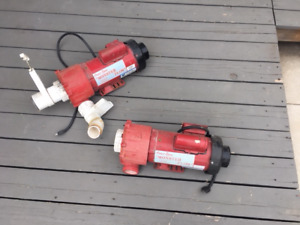 Coast spas 'Monster Flow' pool pumps