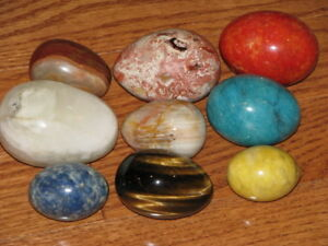 marble egg collection vintage