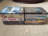 Job lot of 18 DVDs