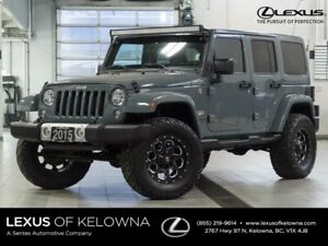 2015 Jeep Wrangler Unlimited Unlimited Sahara w/Navigation