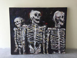 Skeletons on Canvas