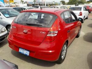 2012 Hyundai i30 FD Red 4 Speed Automatic Hatchback