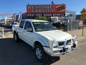 2006 Holden Rodeo RA MY06 Upgrade LT White 5 Speed Manual Crew Cab Pickup