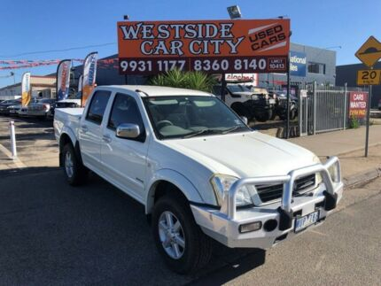 2006 Holden Rodeo RA MY06 Upgrade LT White 5 Speed Manual Crew Cab Pickup Hoppers Crossing Wyndham Area Preview