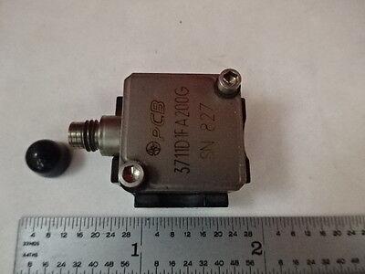 Accelerometer Pcb Piezotronics 3711d1fa200g Sensor Vibration Calibration F1-e-03