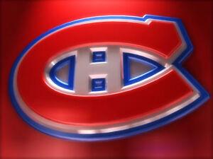 Montreal vs New York Islanders Feb. .28 Sec.333 Aisle Seats