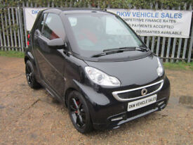 RARE SMART FORTWO 1.0L CONVERTIBLE MHD EDITION 21 / 2014 (14) ONLY 12K FSH