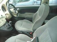 2008 08 FIAT 500 1.2 LOUNGE 3D 69 BHP
